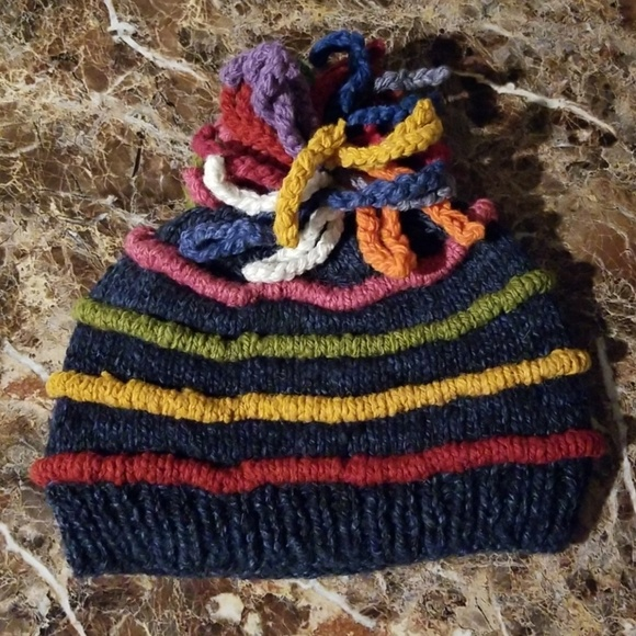 8a17c204 Clearance!! Wool Winter Hat. Made In Bolivia. NWT